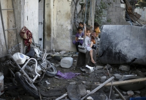 Gaza war may require 'imposed' solution