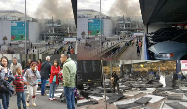 Attacks on Brussels airport, metro station kill around 28 : BRUSSELS