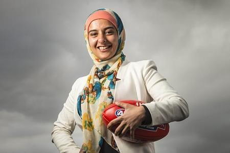 Australian Muslim female`s Football Team Makes History