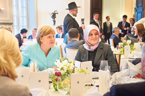 Islam will always remain in Germany: German Chancellor Angela Merkel