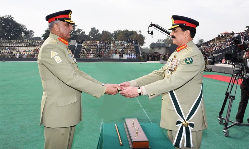 General Qamar Javed Bajwa takes charge as Pakistan's 16th army chief :Pakistan