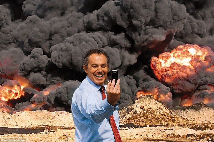After half million deaths, Ex-British PM Blair apologizes for Iraq War