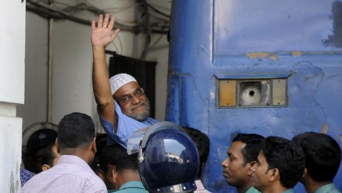 Bangladesh's high court upholds Muslim leader's death sentence