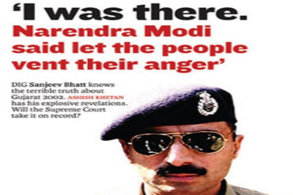 Indian Police officer who took on Narendra Modi after 2002 Gujarat riots, Sacked