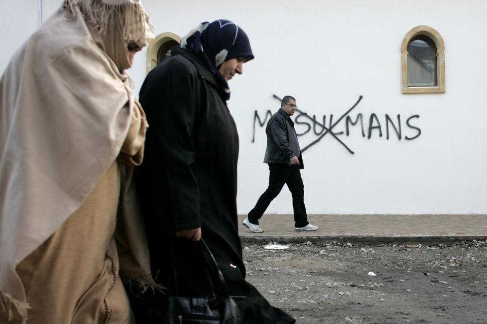 `Alarming` rise in Islamophobia attacks in France