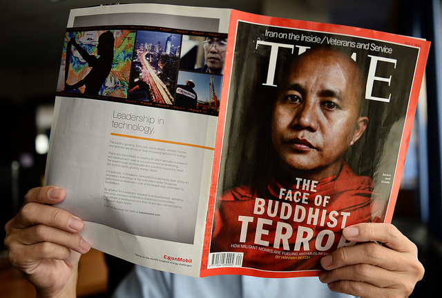 Terrorist Monk dubbed Buddhist Bin Laden targets Myanmars persecuted Muslims