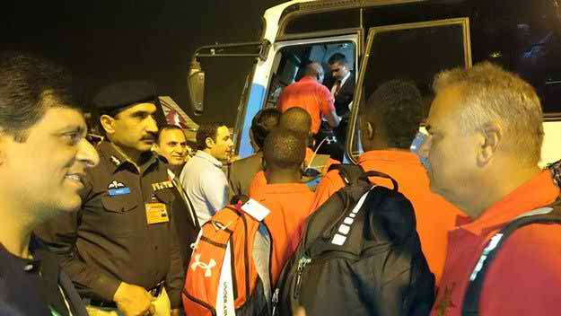 Zimbabwe cricket team arrived Pakistan For Cricket Series