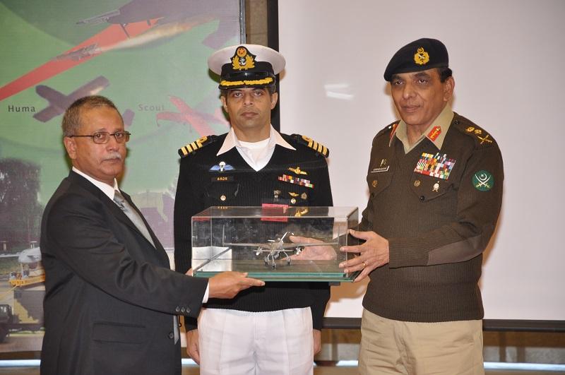 Pakistani drones Buraq and Shahpar handover to Pak Army