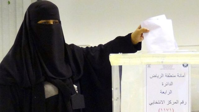 Women Voted In Saudi Arabia, Window Or Revolution Dressing?