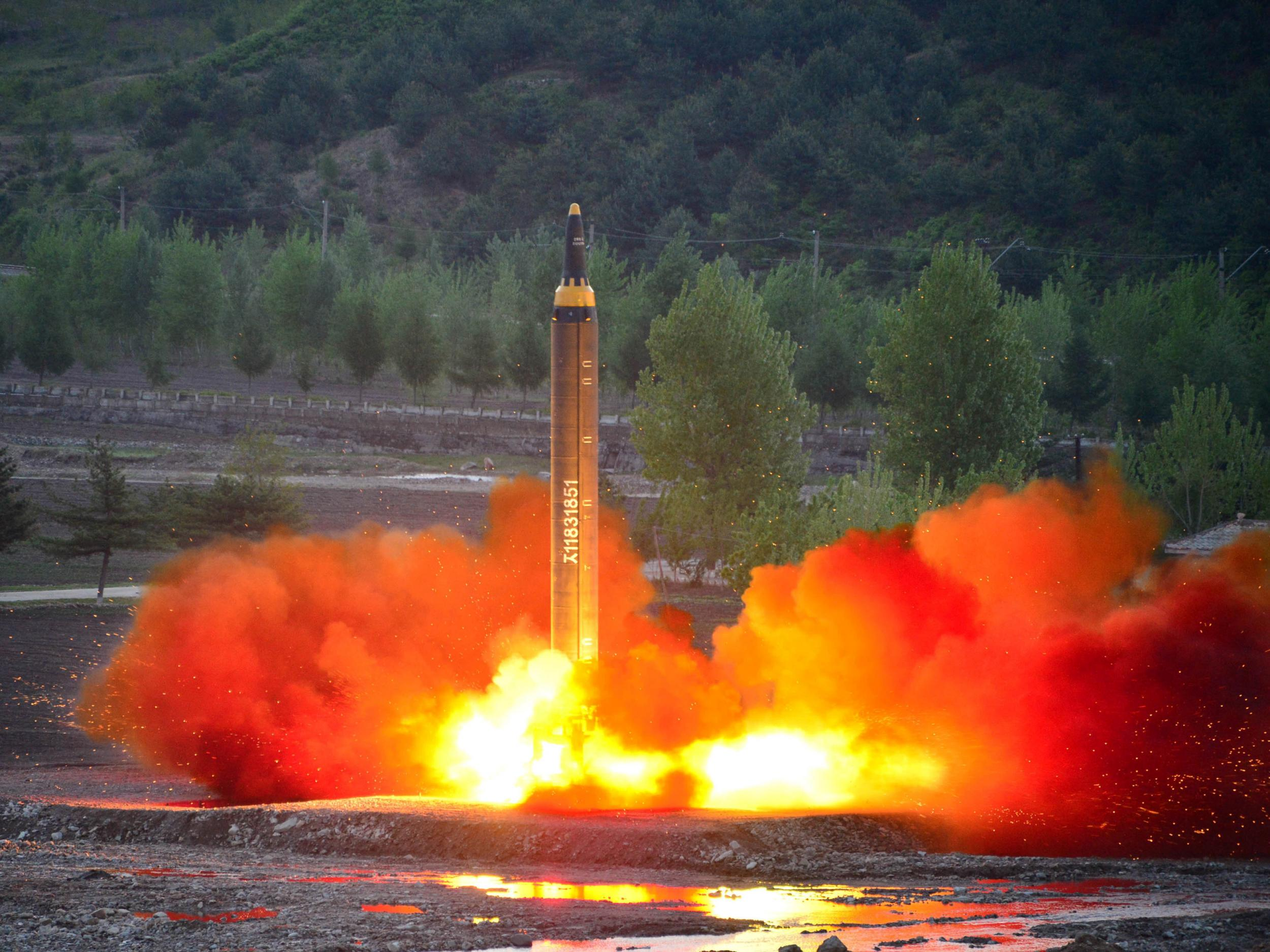 North Korea fires ballistic missile capable of