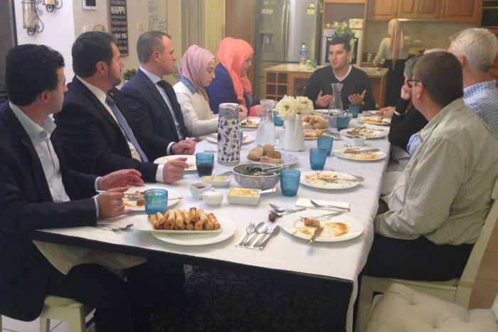 Aussie Muslim family invites Police chief to Ramadan feast