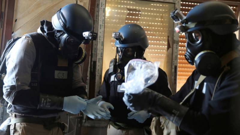 Syrian forces used nerve gas in four recent attacks