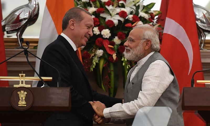 India dismisses Erdogans offer of multilateral talks on Kashmir