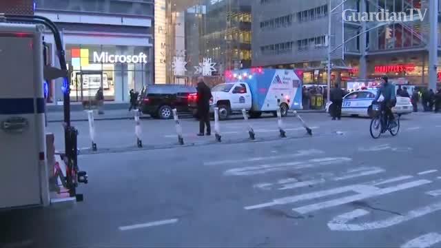 Terror bomber strikes New York subway three hurt