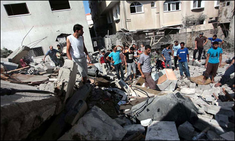 GAZA CITY: Israel air strikes kill 7 in Gaza
