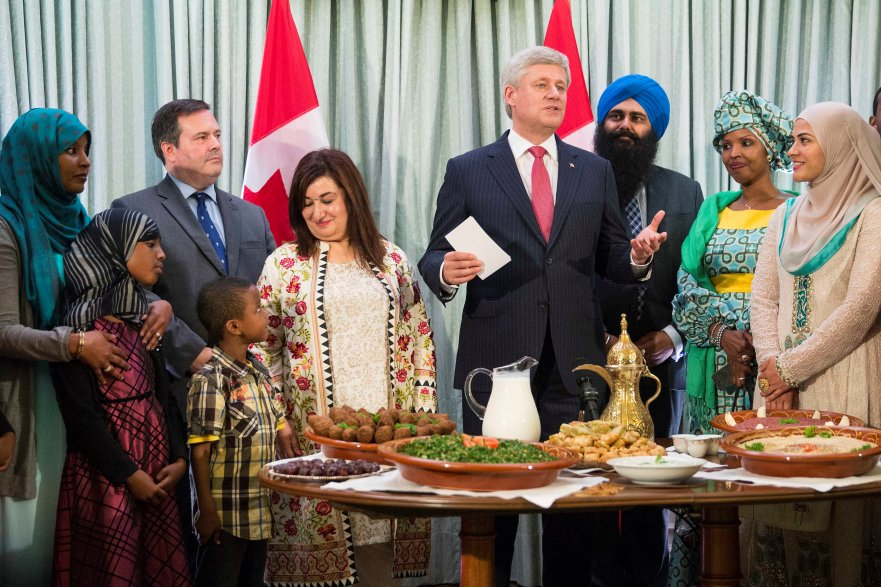 Canadian Prime Minster first time hosts iftar