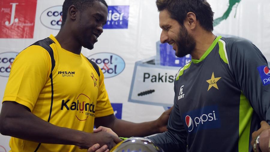 Pakistan: 1st T20 Mactch of International Series Between Pakistan and Zimbabwe