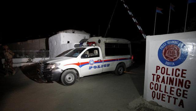 Terrorists attack police training college in Quetta