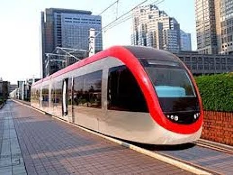 World's first hydrogen powered tram runs in China