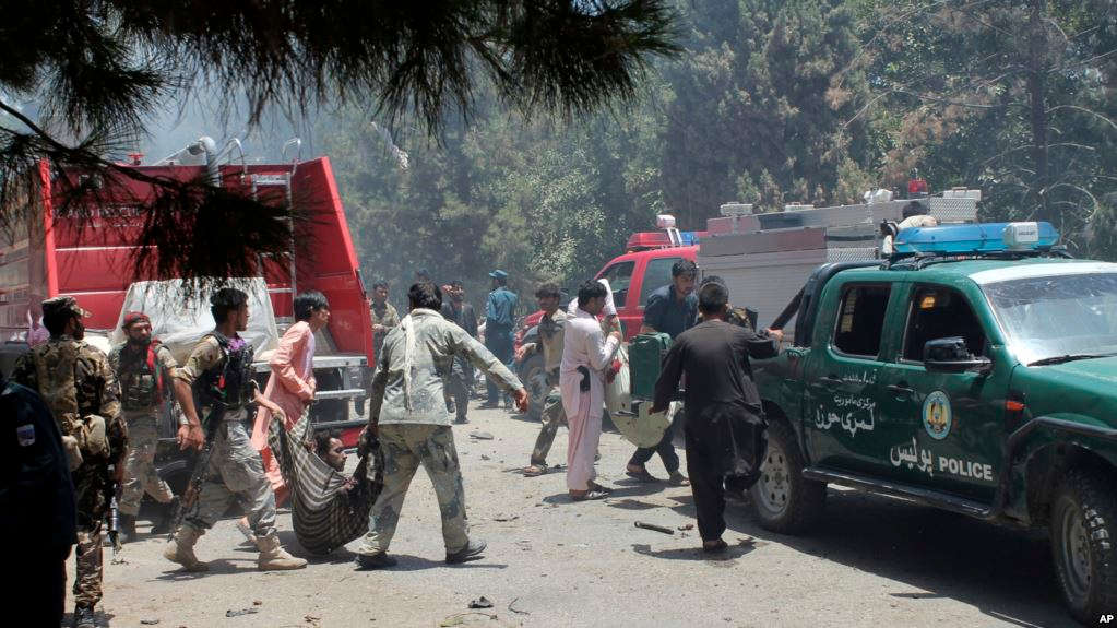 Afghanistan suicide bomb kills at least 34