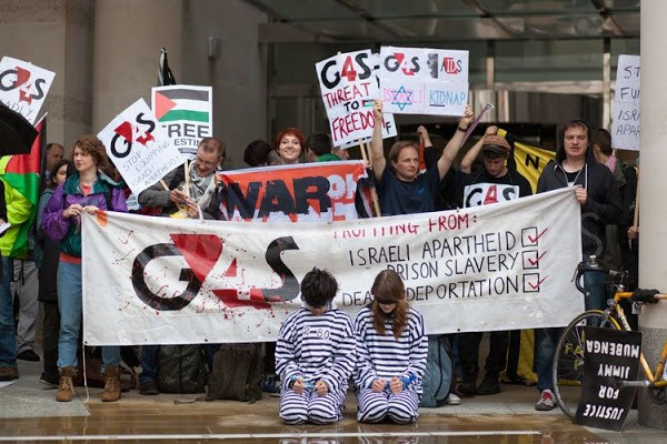Security firm G4S boycott spreads worldwide over its role in Israeli prisons