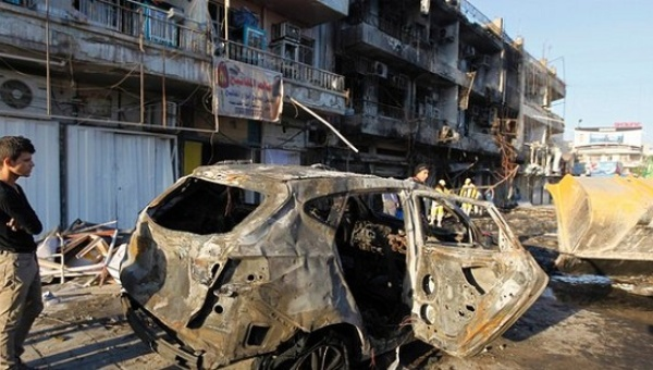 Suicide bomber kills 3, injured 27 in central Baghdad :iraq
