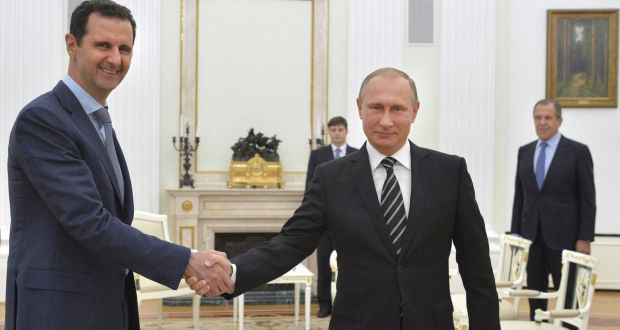 Russian President  Putin announces reduction of Russian forces :Syria