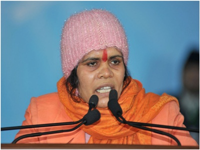 BJP warns Sadhvi for her anti-Muslim statement
