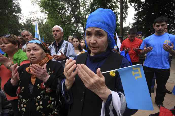 Turkish President Erdogan Urges for Protection of CRIMEAN MUSLIM TATARS