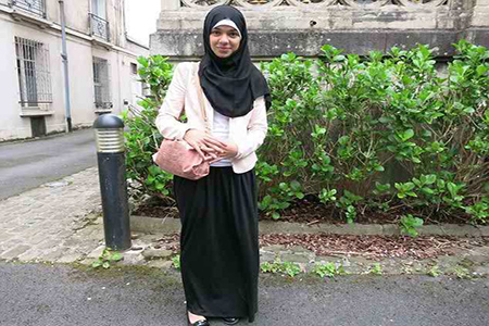 French Muslim girl banned from school for wearing long skirt