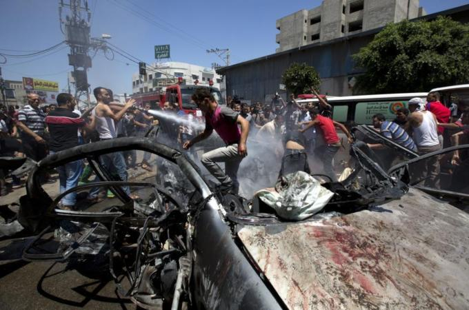 Dozens dead in Israel's Gaza bombardment