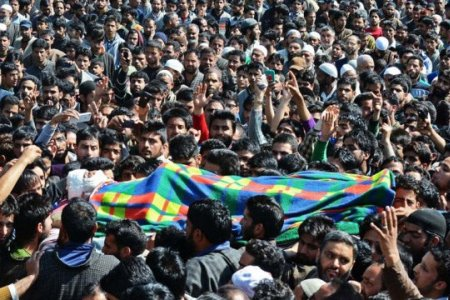Protests in Indian-occupied Kashmir after civilian killed by Indian forces