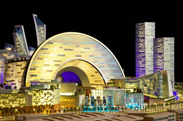 Dubai Unveils Plans for 'Mall of the World' Domed City
