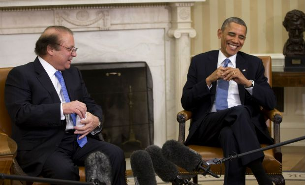 Talks with President Obama are positive, says PM Nawaz