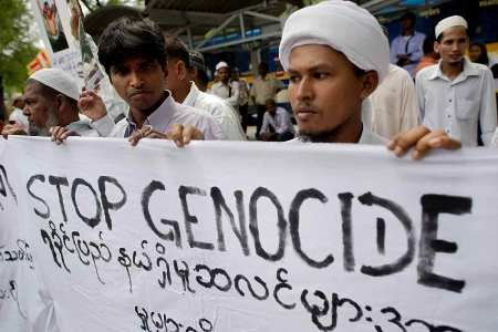 Report states Rohingya Muslim crisis has all signs of genocide