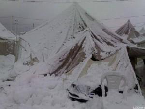Frozen death for Syrians