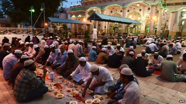 India MPs 'force-fed' fasting Muslim worker