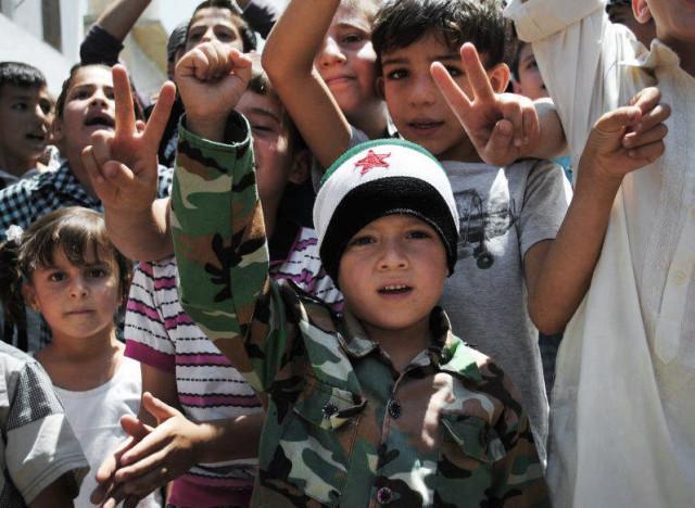 UNICEF:1 million children have fled Syria