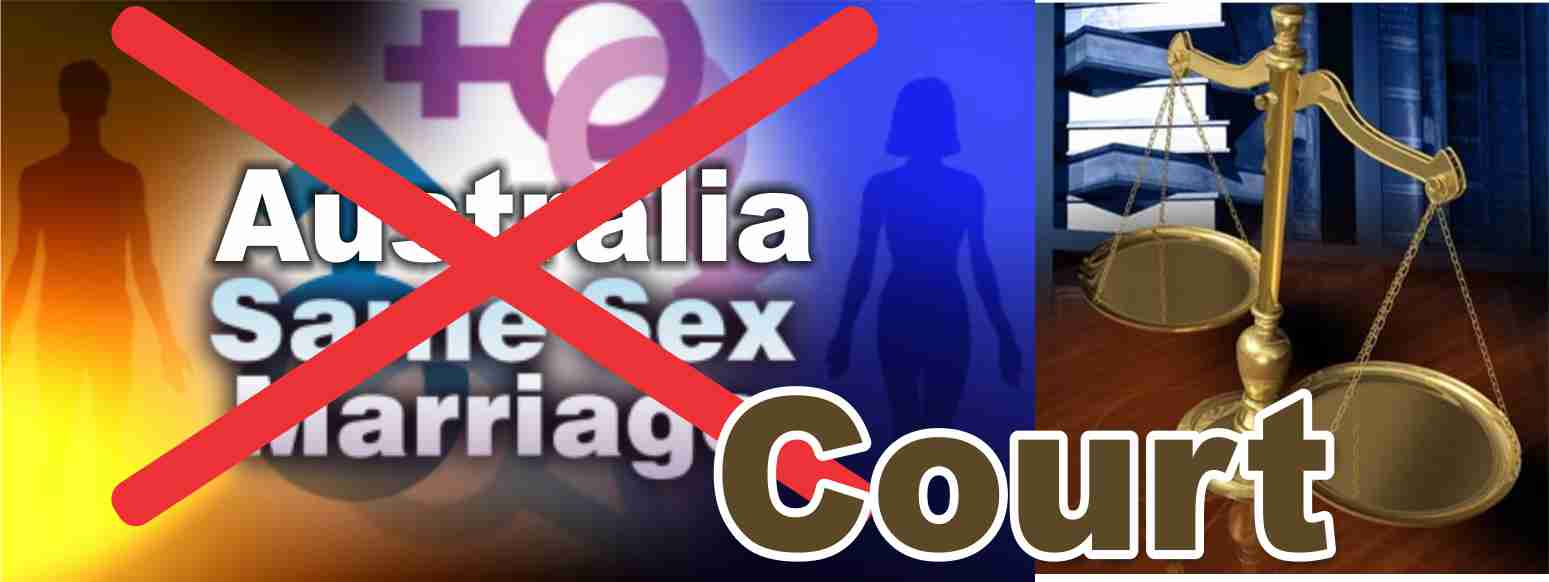Australian court rejects Gay marriage