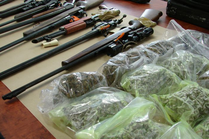 Drugs, gun and $2.5 million cash seized in Australia-wide operation