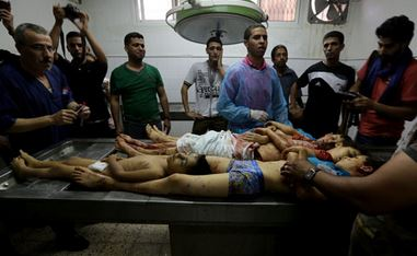 Seventeen Palestinians killed in Gaza