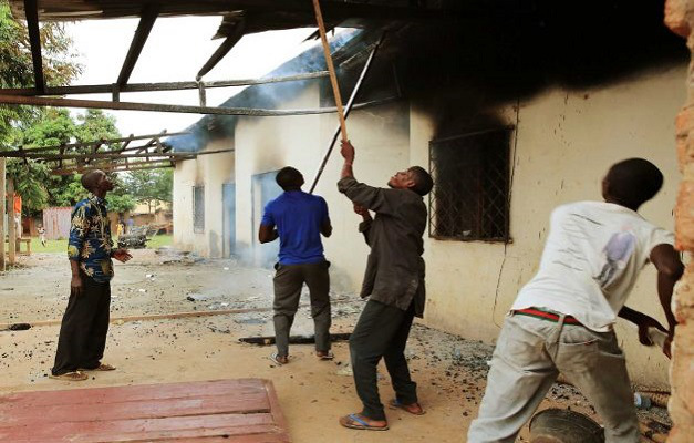 Christian mob destroys another mosque in Bangui