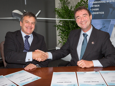 DSTO signs alliance with Northrop Grumman Australia