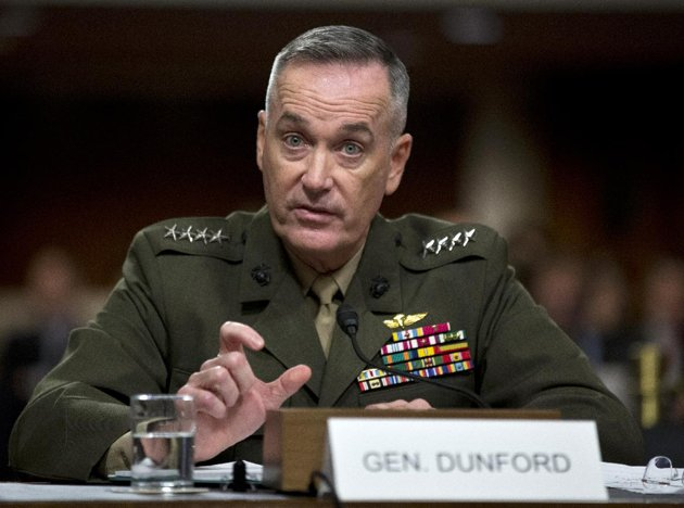 Pakistan, A key to Afghan success: Gen. Dunford briefs to congress meeting