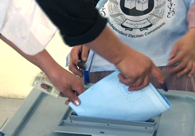 Polling underway for presidential elections in Afghanistan