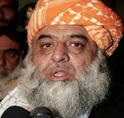 Proposal of Pak-India Joint nuclear plant is a baby's joke: Moulana Fazal ur Reh