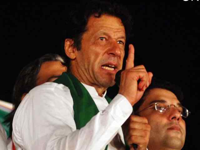 PTI chairman Imran offers govt 'exit plan'
