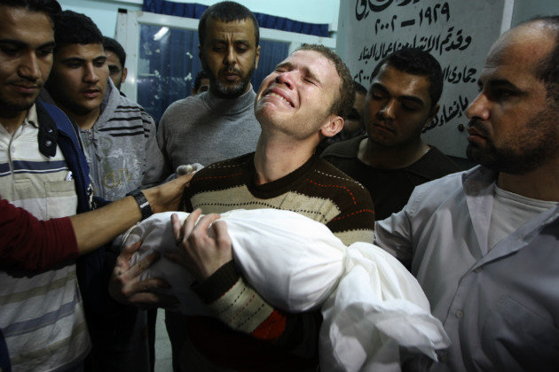 Gaza Strip :Toll hits 682