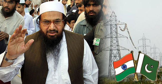 India responsible for recent terrorist attacks in country: Hafiz Saeed