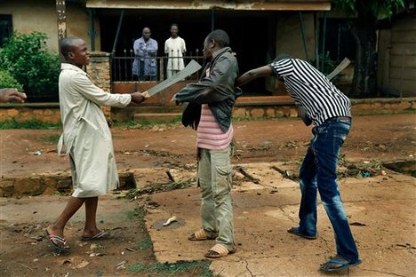 Christian militants attacked on Muslim suburb in Bangui